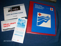 1980S CANADIAN RED CROSS SOCIETY BINDER/INSTRUCTOR GUIDES+