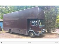 Removal trucks 7.5 ton