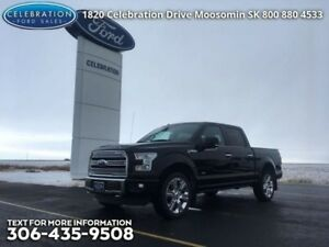 2016 Ford F-150 Limited  Fully Loaded, Local Trade!