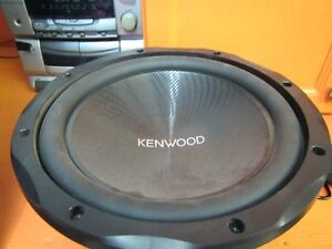 Kenwood Amp. and subwoofer