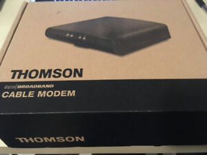 Rogers/Teksavvy Modem (Thomson) and Router (Linksys)for sale