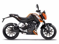 2015 KTM DUKE 125 LOW MILES ONLY 1060 MUST BE SEEN ,FINANCE AVAILABLE ,£2850