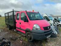 2006 Renault Mascott Caged sided Tipper spares or repair no vat Diesel Manual