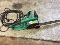 Gardenline electric chainsaw