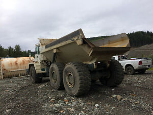 1996 Terex 4066C Articulated dump truck for sale. Prince George British Columbia image 4