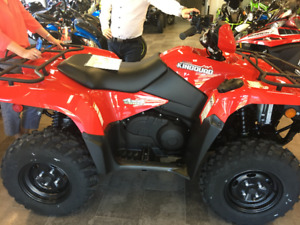 VTT SUZUKI King Quad 500 2018 rouge **NEUF - NEW**