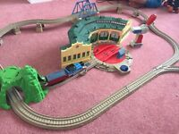 Thomas the tank engine Tidmouth sheds