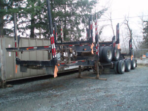 LOG SUPER TRAIN TRAILERS FOR SALE