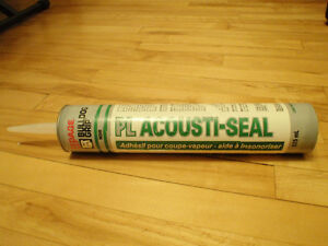 Scellant adhésif Bulldog Grip PL «Acousti-Seal» 825 ml