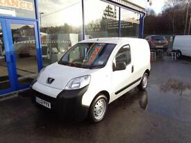 2012 PEUGEOT BIPPER HDI S CAR DERIVED VAN DIESEL