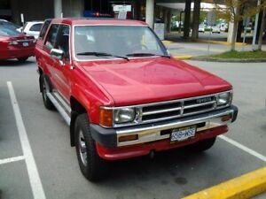 Mint 1987 Toyota 4Runner SR5