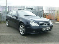 Mercedes-Benz C180 Kompressor 1.8 2006MY SE ONLY 1 OWNER FROM NEW