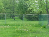 500 FT OF GREEN PLASTIC FROST FENCE FOR SALE!!