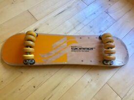 Skateboard , snake board skimmer Very Rare .