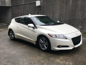 2011 Honda CRZ Metallic Pearl wants a new home.