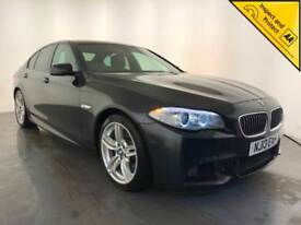 2013 BMW 520D M SPORT DIESEL AUTOMATIC SALOON 181 BHP FINANCE PX WELCOME