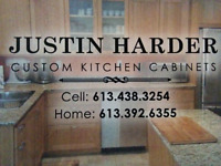 Custom Hard Wood Cabinets & Home Renovations