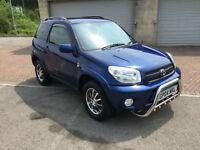 2004 Toyota RAV4 2.0 VVT-i XT3 4x4 3 Door Metallic Blue