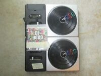 Two DJ Hero Controllers & Controller For Big Game Hunter (SPCA)