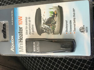 Brand New, Unopened Aqueon Mini-Heater 10W