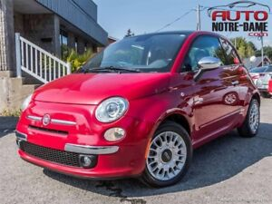 Fiat 500 2dr HB Lounge CUIR TOIT MAGS  2014