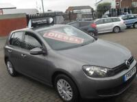 Volkswagen Golf 1.6TDI ( 90ps ) 2010 S ** CHEAP TAX ONLY £30 PER YEAR **