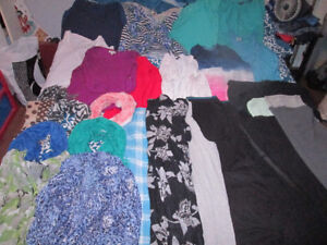 lots of plus size womens clothes LOT 1x and 2x some 3x