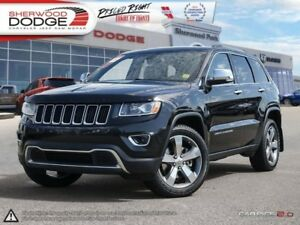 2014 Jeep Grand Cherokee Limited  PARK ASSIST | HEATED LEATHER
