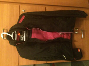 Superdry black / pink jacket