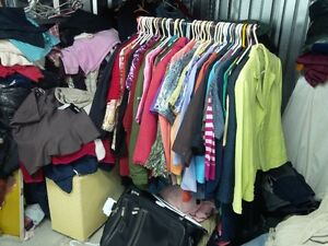 Large Lot of Very Good Plus Size Clothes-80+
