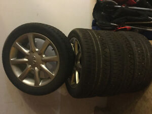 Infinity I35 rims and tires
