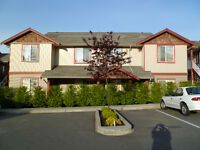 Townhouse in North Nanaimo with ocean & mountain view.  $259900