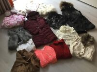 Bundle of girls clothes / shoes and toys size 7/8/9/10