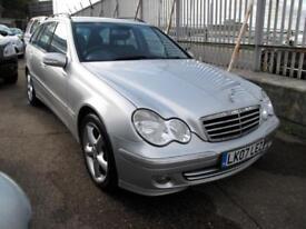 2007 07 Mercedes-Benz C220 2.1TD auto CDI Avantgarde SE Diesel Estate
