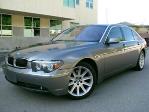 2004 BMW 7 SERIES 745i !!!! LUXURY NAVIGATION LOADED !!! WELL LO