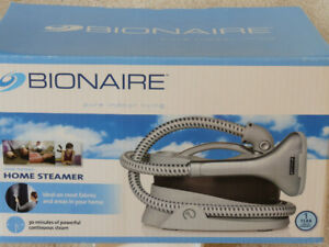 Bionaire Home Steamer for fabrics and drapes, brand new