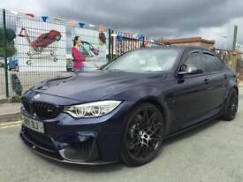 BMW M3 3.0 M DCT 2015/65 FACELIFT *INDIVIDUAL COLOUR *AKRAPOVIC EXH *COMPETITION
