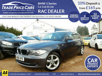 GUARANTEED CAR FINANCE BMW 1 Series 1.6 116i 118i 120i 5dr