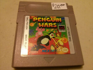 Nintendo Gameboy Penguin Wars video game $20
