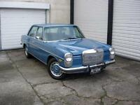 1972 Mercedes-Benz 220d Saloon