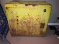 Late 30's Pepsi-Cola Box Ice Cooler