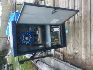 Elect,man lift motor ,reduction gear and electronic  main board