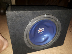 Kenwood sub with kicker amp