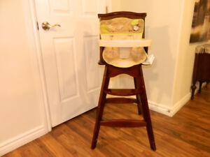 Carter wooden highchair.