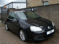 """06 56 VOLKSWAGEN GOLF 1.4 TSi GT TURBO SUPERCHARGED 3DR LOW MILEAGE 17"""" ALLOYS"""