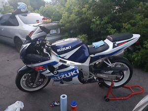 Suzuki GSX-R600 (will Certify)
