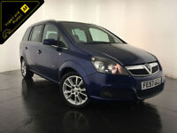 2007 57 VAUXHALL ZAFIRA DESIGN CDTI DIESEL 7 SEATER FINANCE PX WELCOME