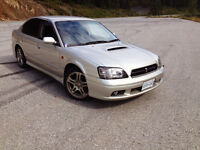 1999 JDM Subaru Legacy B4 Twin Turbo Rally Sport