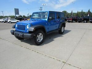 2014 Jeep Wrangler Unlimited SportONE OWNER PW PL AIR