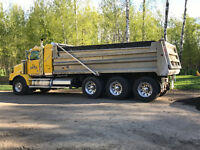 For all your gravel and trucking needs call ROSS 780.717.8004